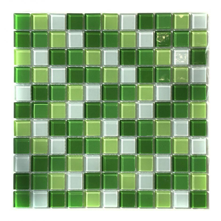 Мозаика стеклянная Aquaviva Cristall Green Light DCM173