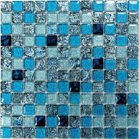 Мозаика стеклянная Bonaparte Satin Blue