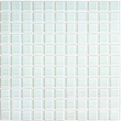 Мозаика стеклянная Bonaparte White Glass