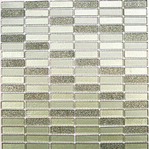 Мозаика стеклянная Bonaparte Silver Light