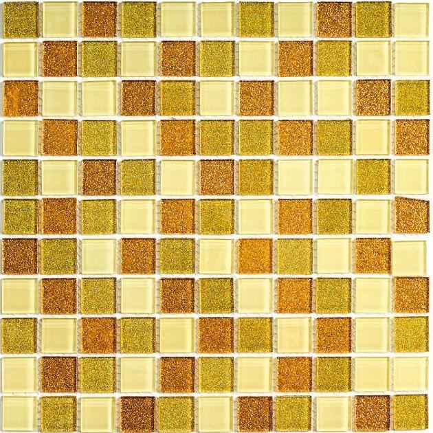 Мозаика стеклянная Bonaparte Shine Gold