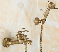 Смеситель с лейкой Antique Brass 1140